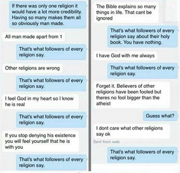 Atheist chat rooms
