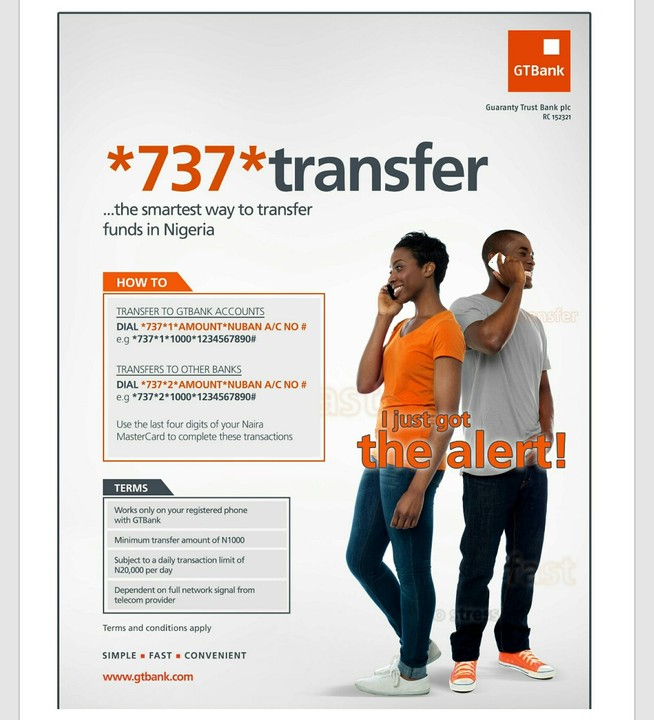 New Gtbank Mobile Money Transfer And Recharge: Risky