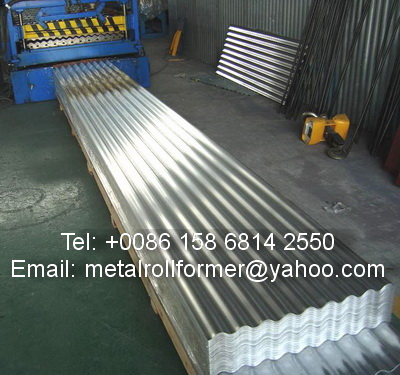 Cameroon Zinc Roof Sheet Making Machine Business To