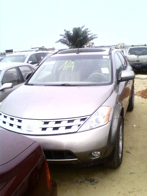 2003 nissan murano from cotonou price m naira see pix. Black Bedroom Furniture Sets. Home Design Ideas