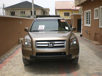 2006 honda pilot for sale toks very clean contact 08038450384 autos nigeria. Black Bedroom Furniture Sets. Home Design Ideas