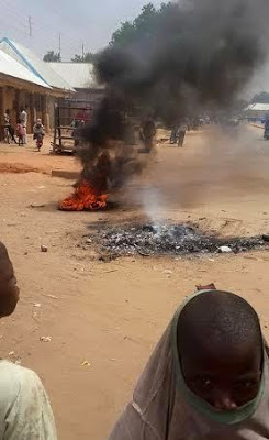 Photo: Woman Accused Of Witchcraft Burnt To Death In Kebbi