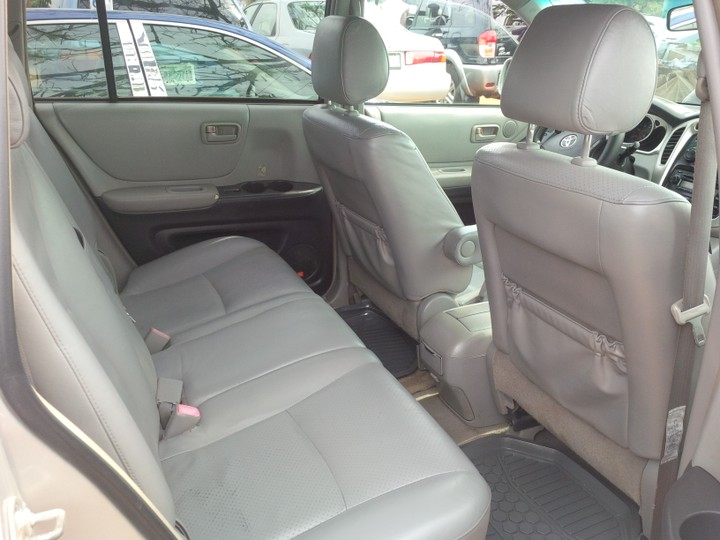 2006 Toyota Highlander With 3rows Leather Interior Autos Nigeria