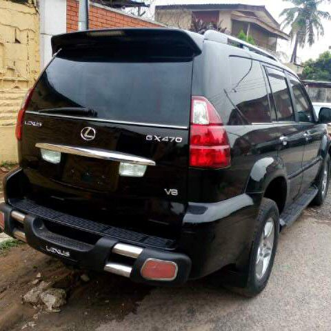 toks lexus jeep gx470 for sale autos nigeria. Black Bedroom Furniture Sets. Home Design Ideas