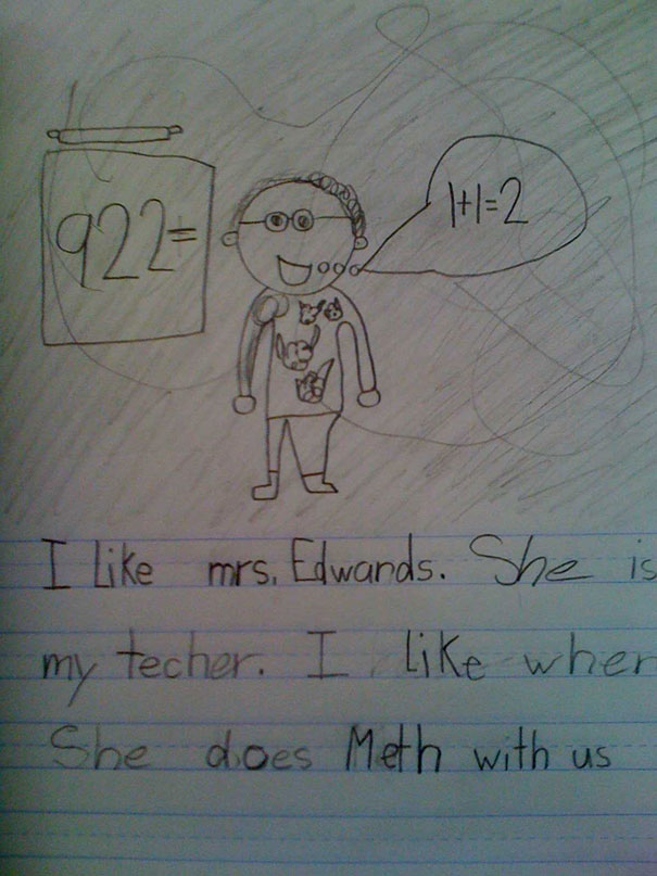 Hilariously Inappropriate Spelling Mistakes By Kids Pics - The 24 funniest spelling mistakes ever
