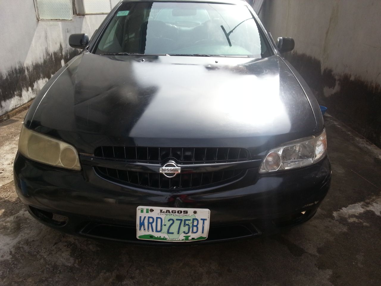 Neatly Used Registered 2001 Nissan Altima Black Leather