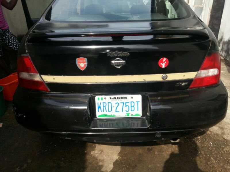 Neatly Used Registered 2001 Nissan Altima Black Leather Ice Cold A