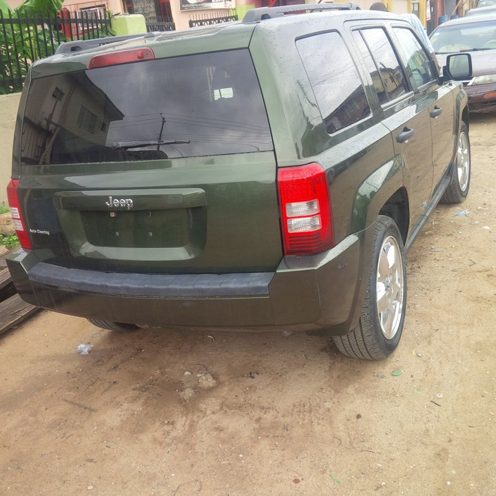 Sharp Jeep Patriot 2008 Model For 1.9m