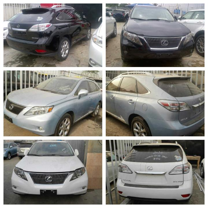 lexus rx350 fullest option 2010 model autos nigeria. Black Bedroom Furniture Sets. Home Design Ideas