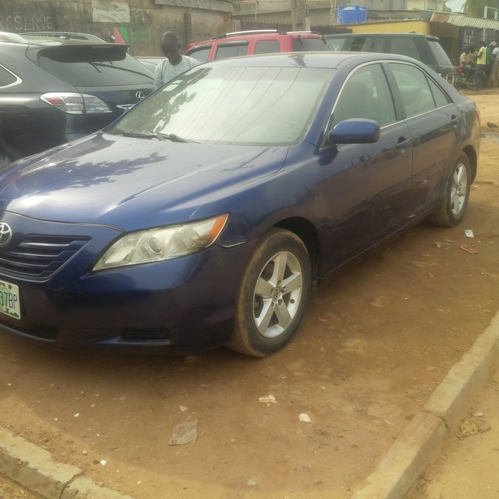 2008 nigerian used toyota camry muscle for autos nigeria. Black Bedroom Furniture Sets. Home Design Ideas