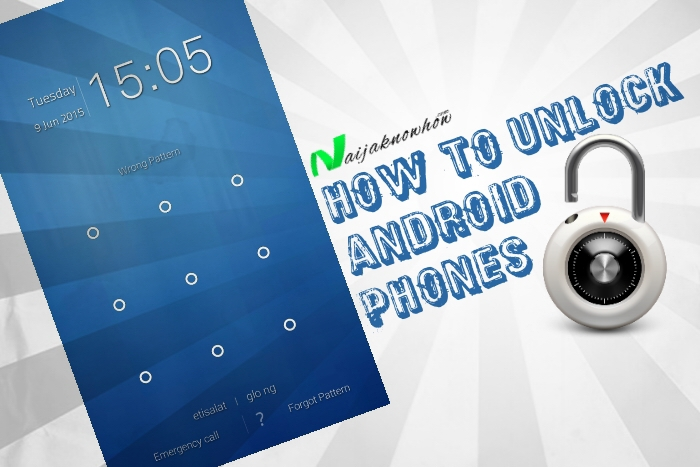 How To Unlock Android Phones After Forgetting Pattern Or
