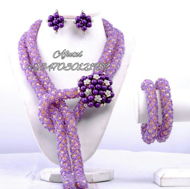 Whaooo!!! Check Out These Trending Bead Designs - Fashion - Nigeria