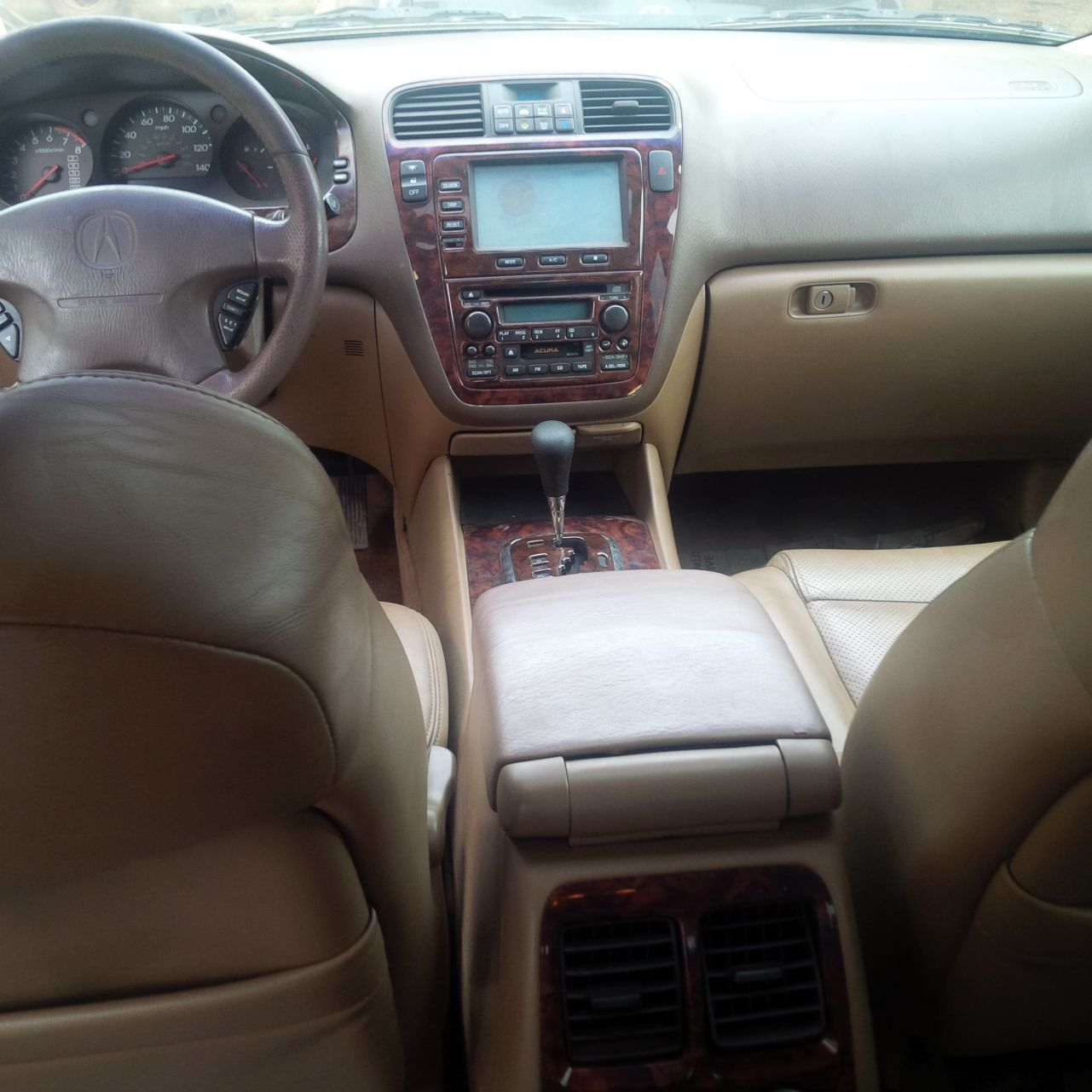 Foreign Used(tokunbo) Acura MDX Year: 2002/2003