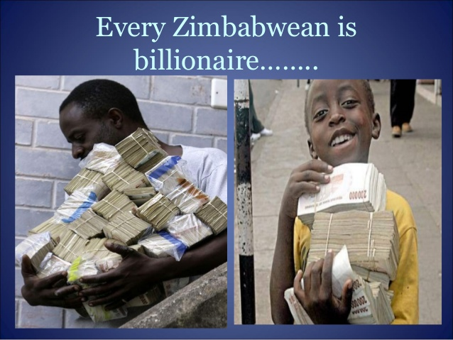 hyperinflation in zimbabwe