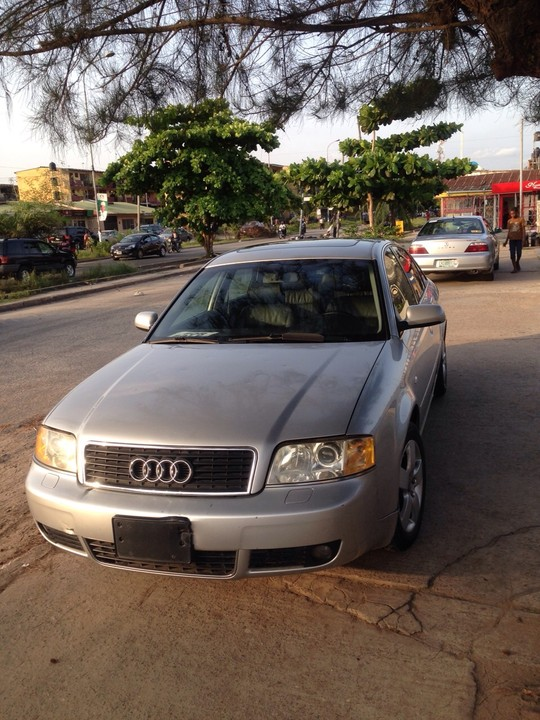 foreign used tokunbo audi a6 year 2003 auto drive autos nigeria. Black Bedroom Furniture Sets. Home Design Ideas