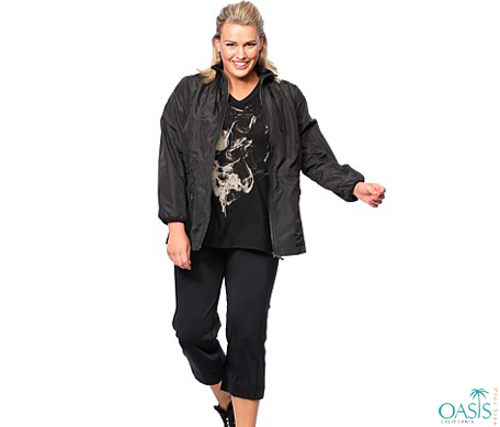 Custom Made Plus Size Activewear Clothing Offered By Oasis