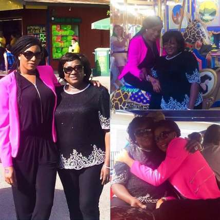 Chika Ike And Mum On Vacation In Dubai (photos)
