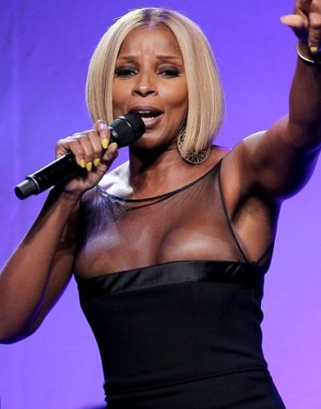 Mary j bliges naked performance