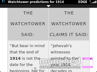 Time of Trouble: Knocking on the Door of the Jehovahs