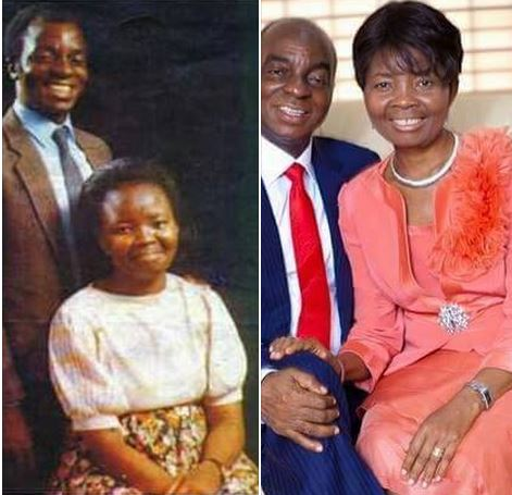 Image result for Photos From Bishop David Oyedepo's private 62nd birthday dinner