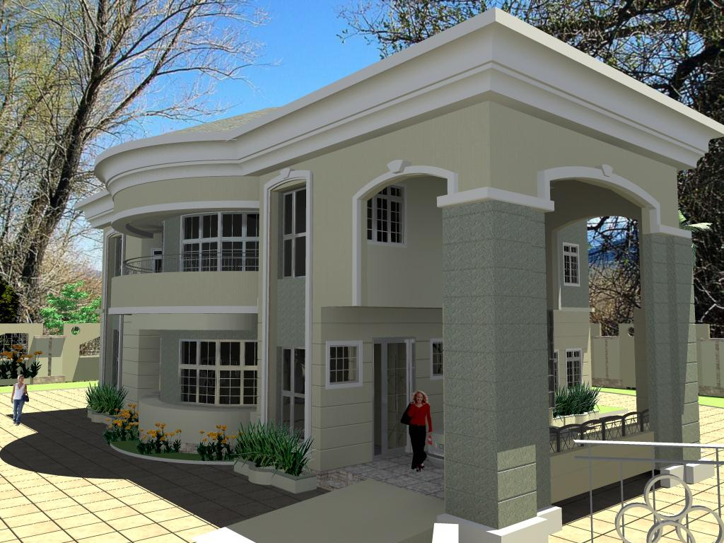 House plans and design architectural designs for duplex for Architectural designs for 3 bedroom flat