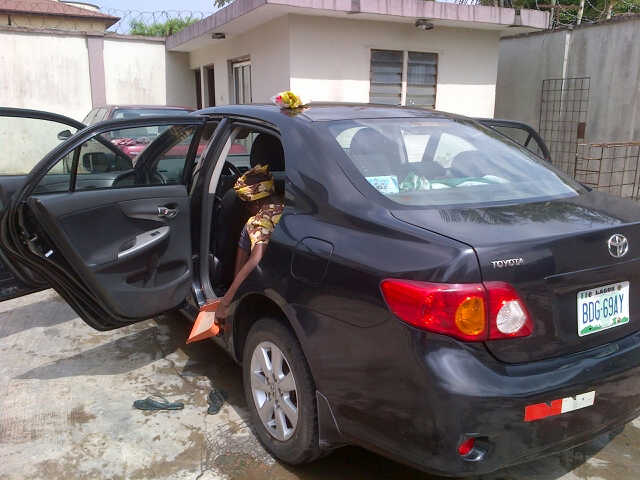 Clean Toyota Corolla 2008 Nigerian Used Available On Olx