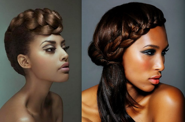 How To Style Single Braids And Pix Of Different Hot Styles