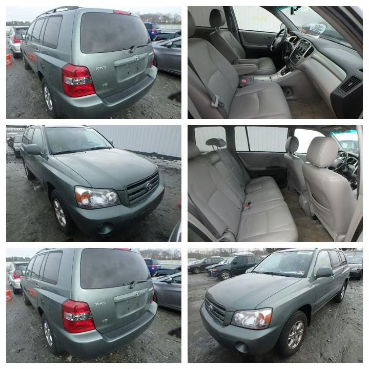 2002 Toyota Highlander For Sale: Toyota Highlander 2006model Accident Free,3rd Row Seats