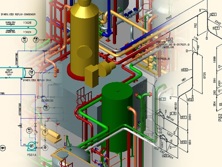 oil and gas training cad pdms pid autoplant hysys in lagos career nairaland - Autoplant 3d