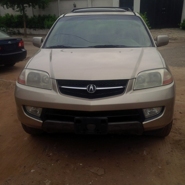 Full Option 2002 Acura MDX For 1.450m