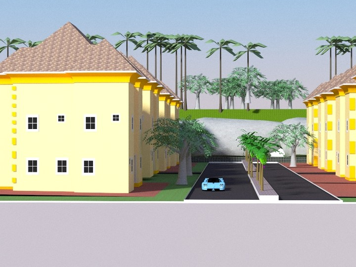 Macjay architectural designs properties nigeria for 4 bedroom bungalow architectural design