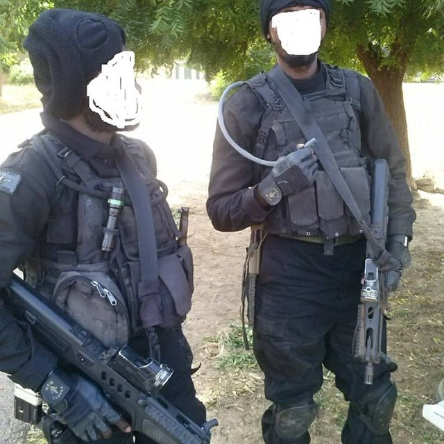 Special Forces Units And Operators Of The Nigerian Armed ...  Nigerian Army Special Forces