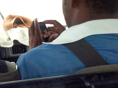 Photo: Married Man Caught Watching P0rn Movie In Public Transport