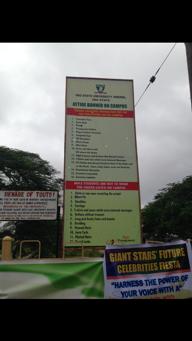 Pictures Of Imo State University's Beautiful