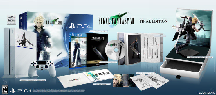 Final Fantasy VII PS4 release date closer after trophy list | Product ...