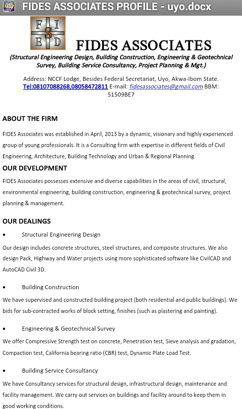 Attached Are My Resume And Cover Letter from www.nairaland.com