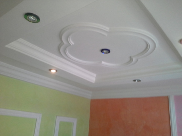 Plaster Of Paris Wall Designs: POP ( Plaster Of Paris) , Wall Screeding, Art Work