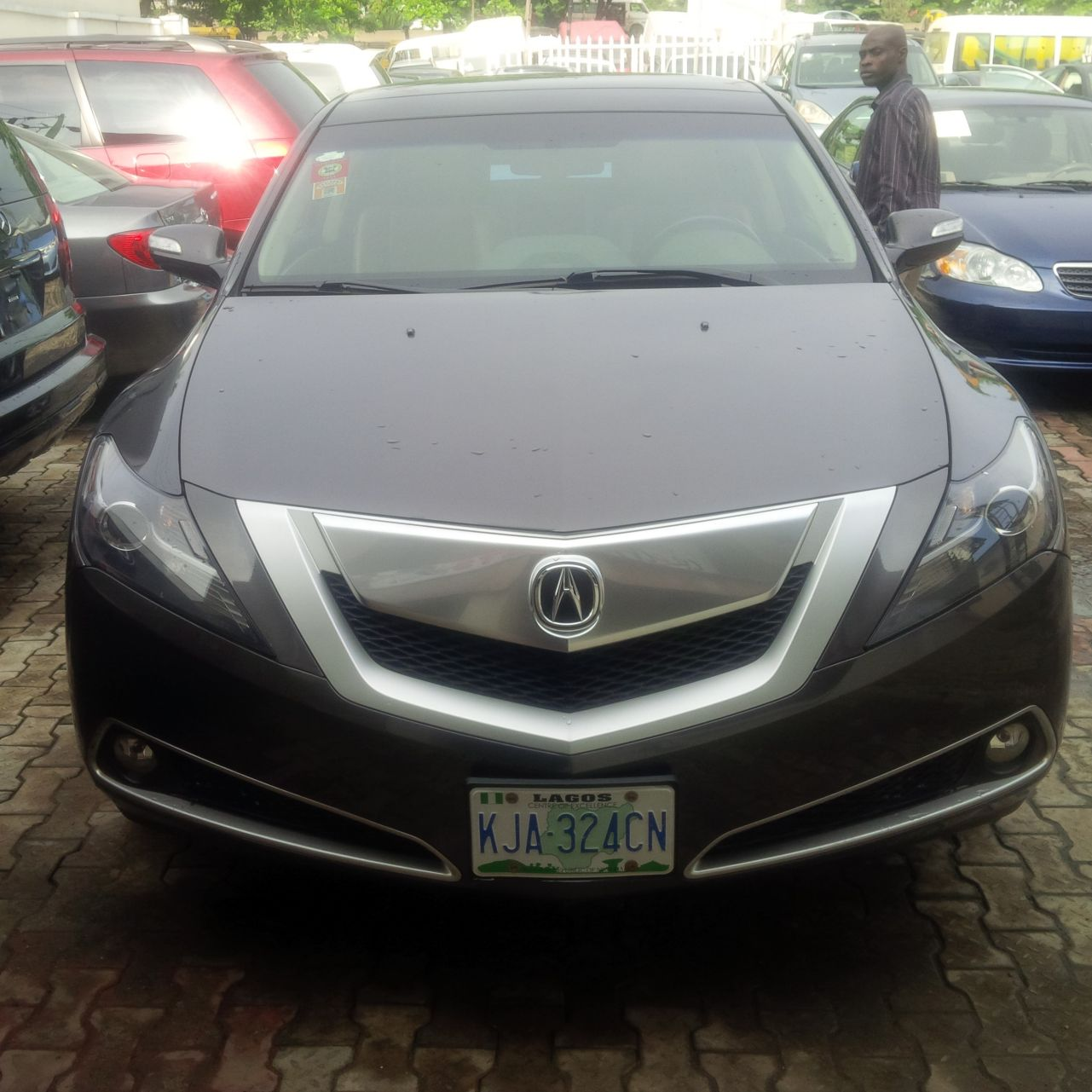Registerednigerian Used Acura Zdx Full Options Grey Year - Used acura cars