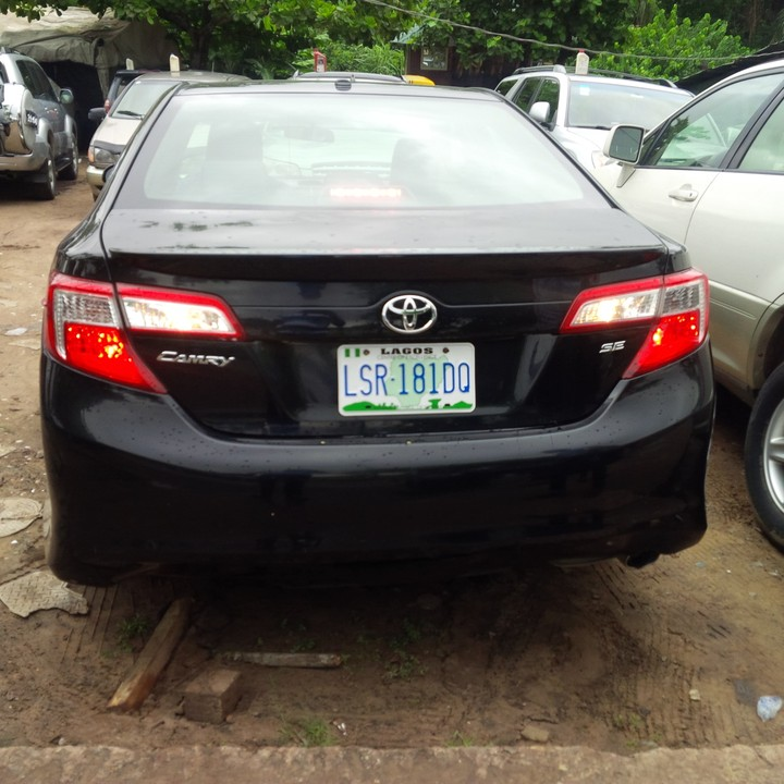 2013 Toyota Camry Sport 1week Used For Sale  Autos  Nigeria