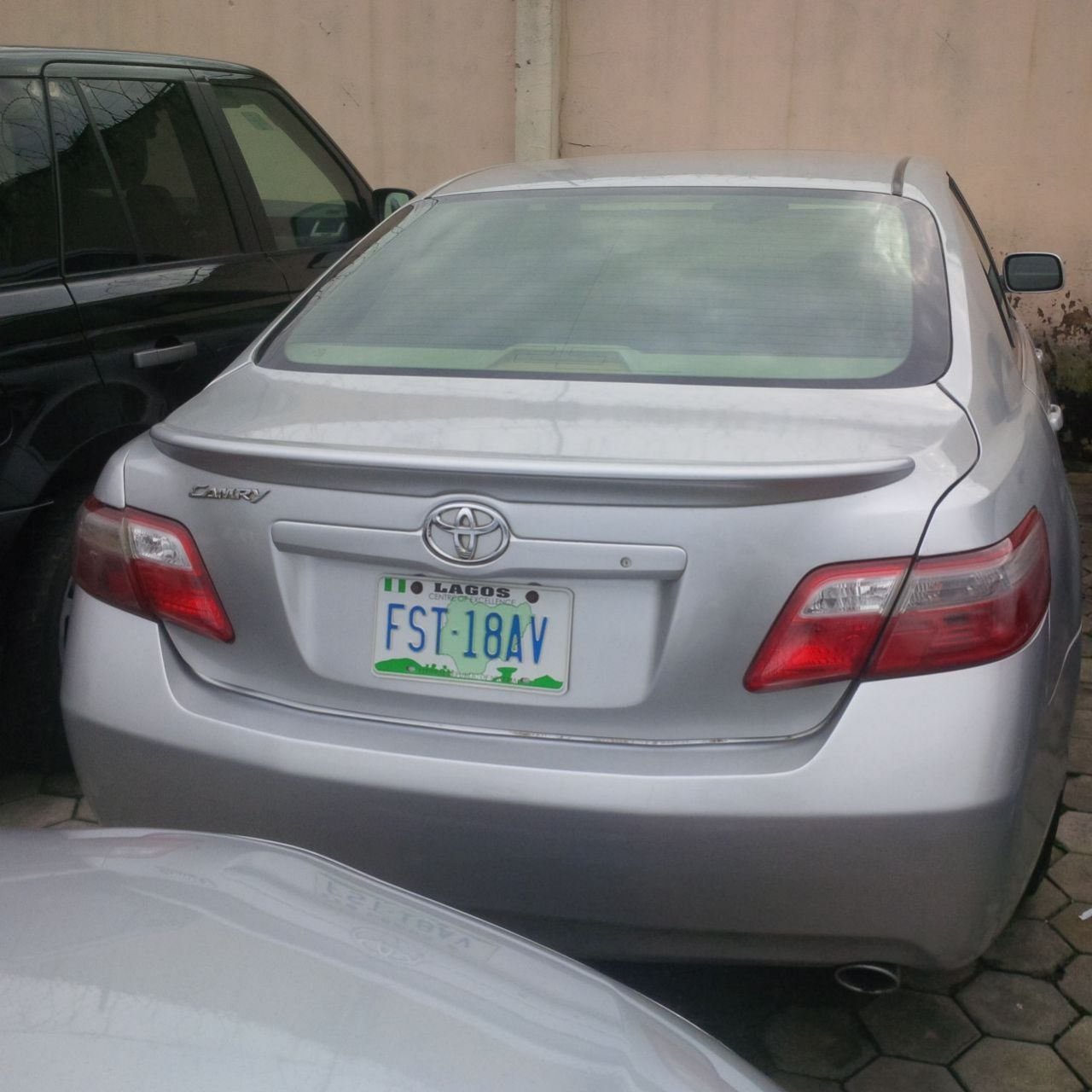 neatly used 2008 toyota camry xle autos nigeria. Black Bedroom Furniture Sets. Home Design Ideas