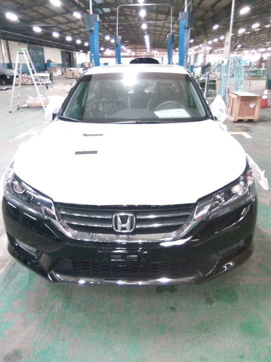 Nigeria Made Honda Accord Was Officially Launched Today At Their Production  Plant At Otta Ogun State.