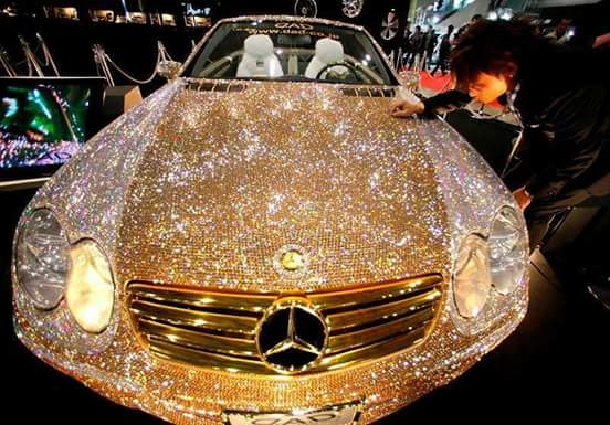 Diamond Encrusted Car: World's Most Expensive Car Owned By Saudi Prince (amir) Al