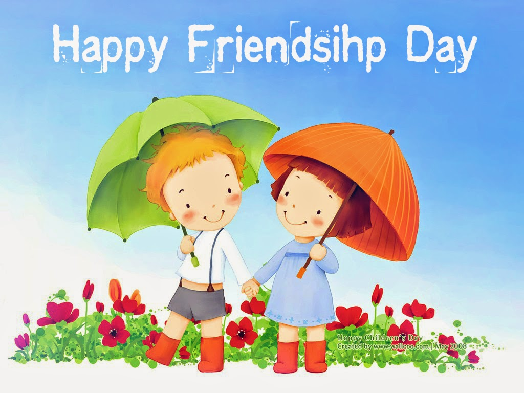Wishes happy friendship day cartoons the best collection of quotes happy friendship day messages sms greetings 2015 culture nigeria kristyandbryce Images