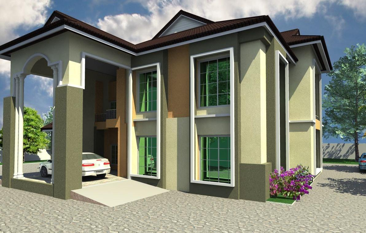 Architectural designs for nairalanders who want to build for Nigeria house plans