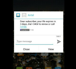 how to send credit from airtel to airtel
