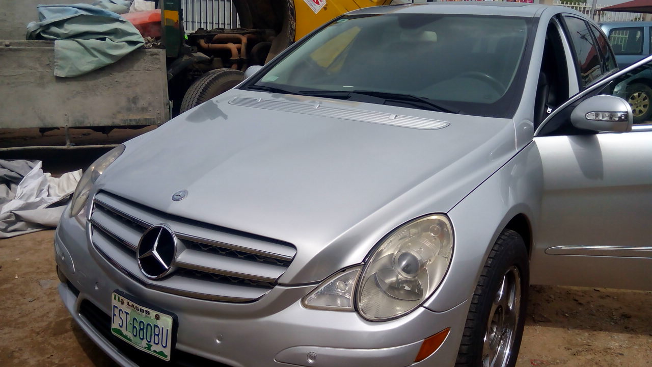 Registered 2009 mercedes benz r350 bought brand new autos nairaland