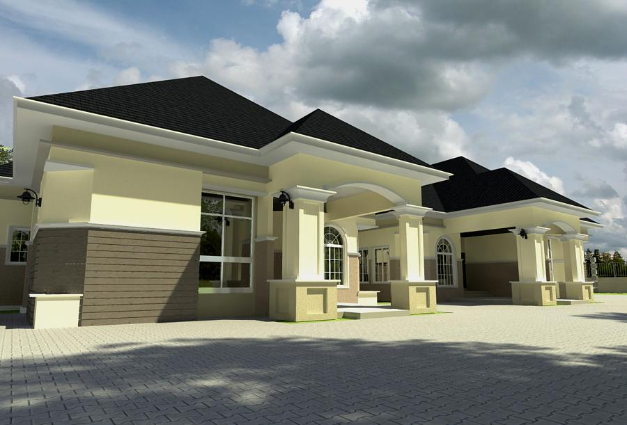 Image gallery nigerian bungalows for House plans nigeria
