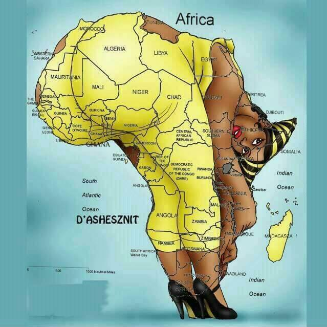 Africa Map Nigeria.New Map Of Africa Jokes Etc Nigeria