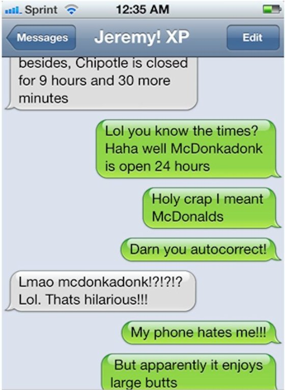 the best dirty text messages