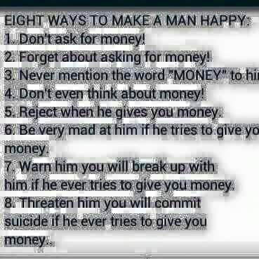 How Do You Keep Your Man Happy